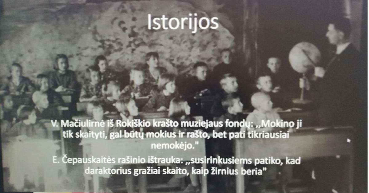 """Respublikinė 8 – 12 klasių mokinių istorijos konferencija """"Švietimo istorija Lietuvoje: nuo kaimo iki miesto"""""""