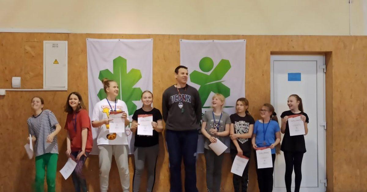 Gimnazijos 5d klasės mokinių badmintono turnyras (2021-05-03)