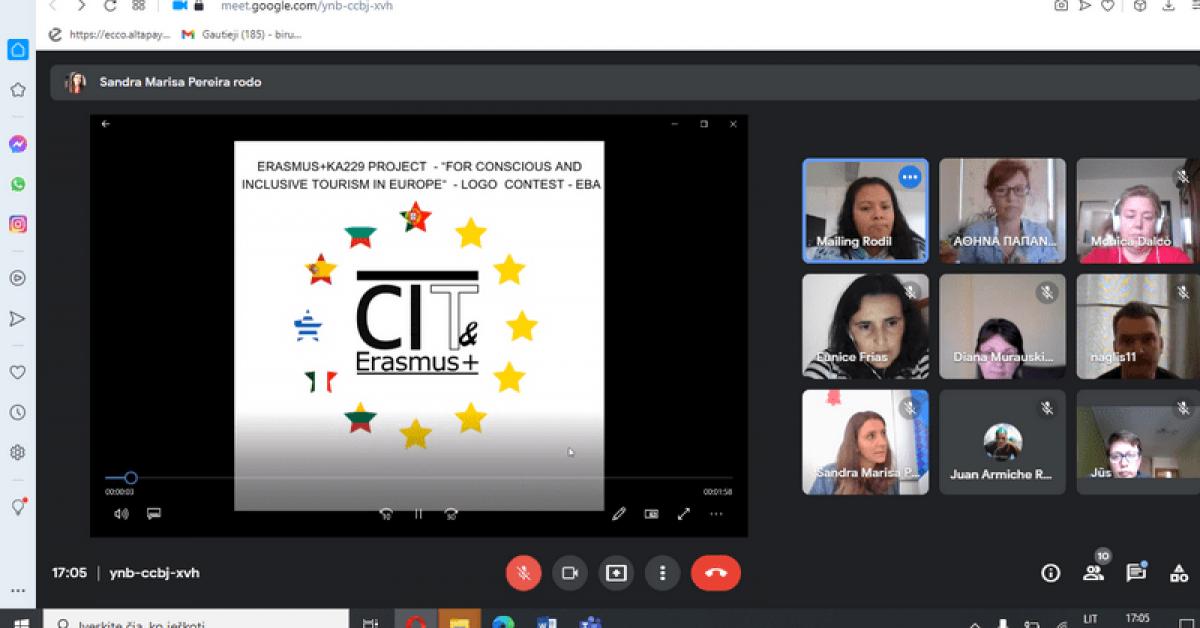 Nors ir virtualus, bet susitikimas… nors ir per ekraną, bet pasitarimas