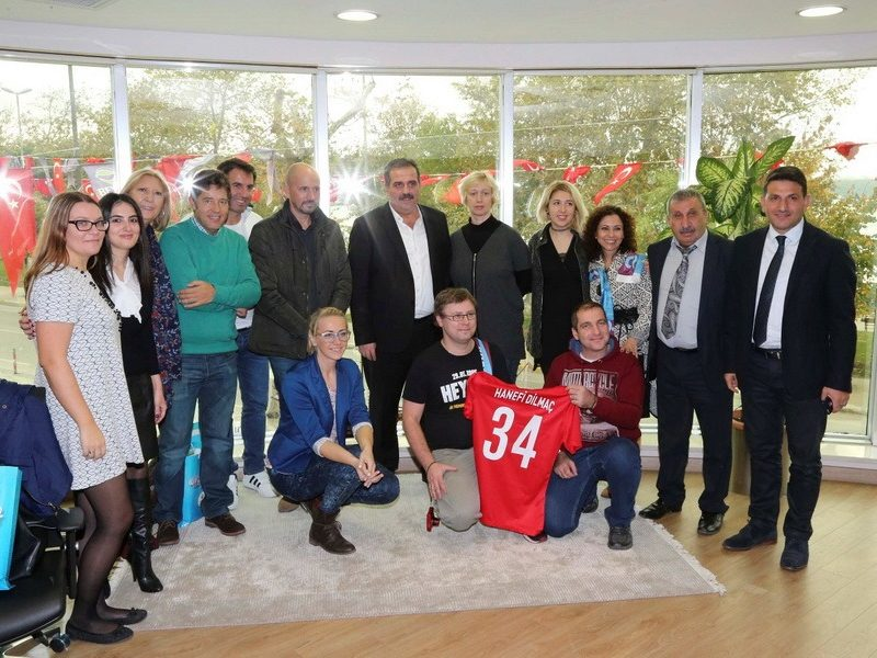 """Pirmas Erasmus+ KA2 projekto """"Art, Technology & Sport keep me bound to my School"""" tarptautinis partnerių susitikimas Stambule"""