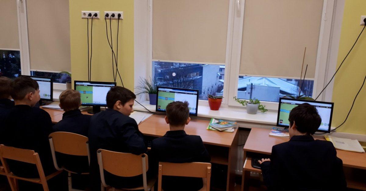 Programavimo valanda mūsų gimnazijoje