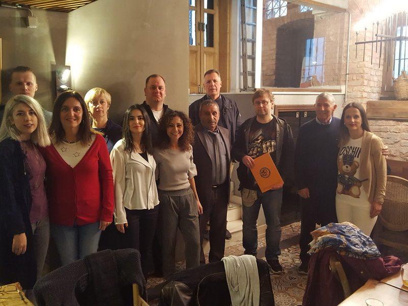 """Antrasis Erasmus+ KA2 projekto """"Art, Technology & Sport keep me bound to my School"""" tarptautinis partnerių susitikimas Stambule"""
