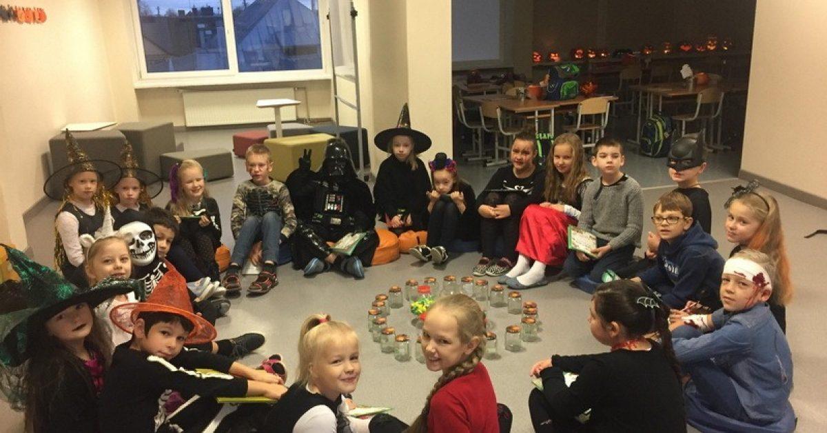 Pradinukų Helovino šventė
