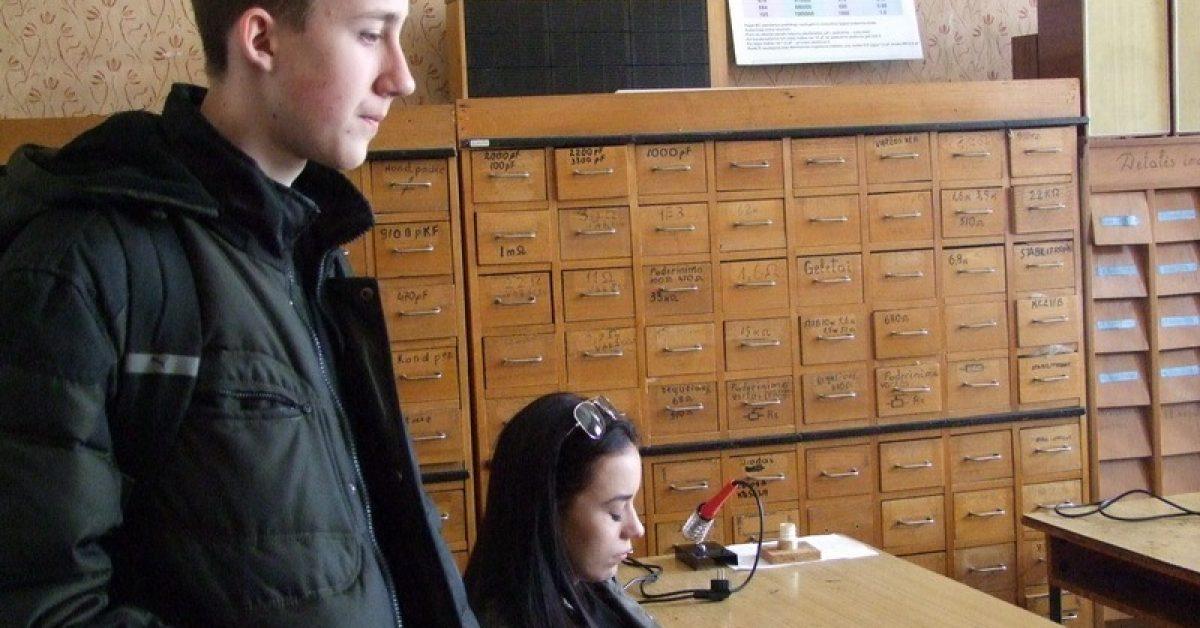 Moksleivių techninės kūrybos centre