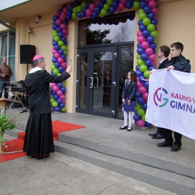 Veršvų gimnazijos inauguracija 2017 04 28