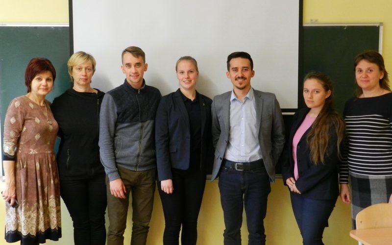 """""""Sėkmės"""" pamoka su Andrejumi Kuznecovu ir Pauliumi Kazakevičiumi"""