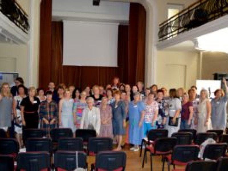 """Tarptautiniame seminare """"Vietos istorija, mokymo strategijos ir ryšys tarp regionų"""" dalyvavo mokytojai iš Lietuvos ir Latvijos"""