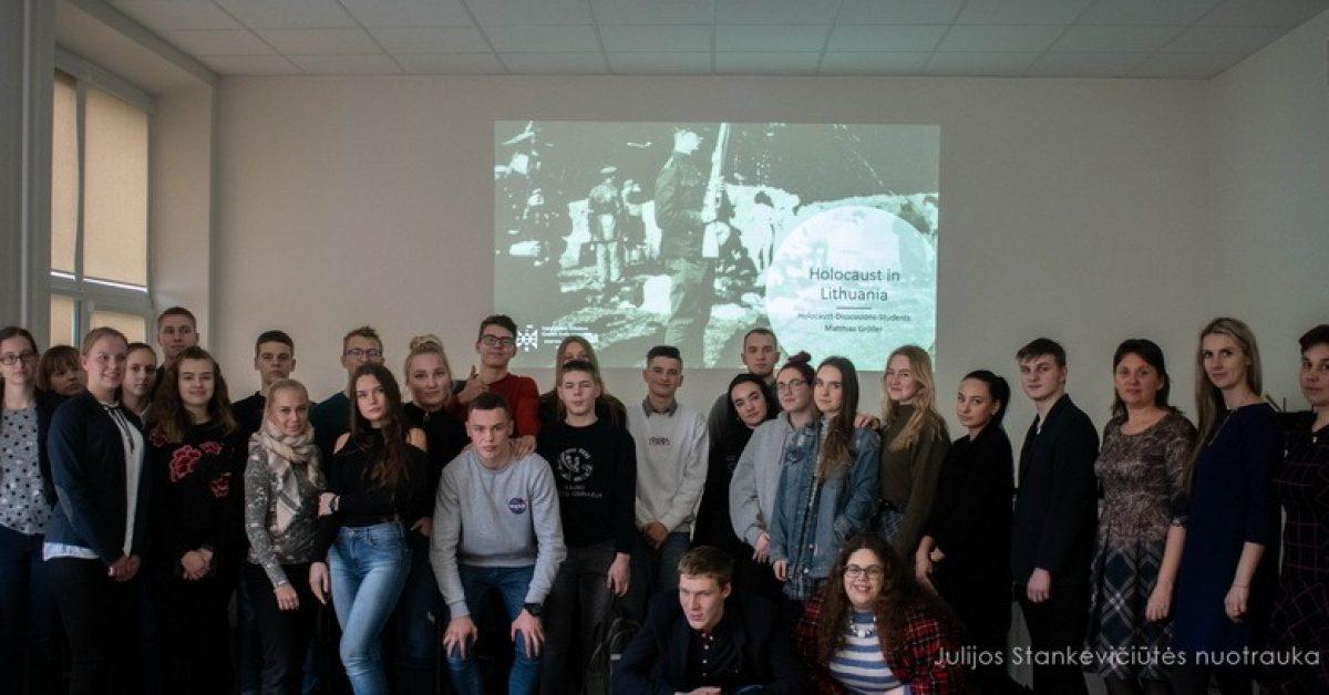 Renginiai, skirti Tarptautinei Holokausto aukų atminimo dienai – Sausio 27-ajai