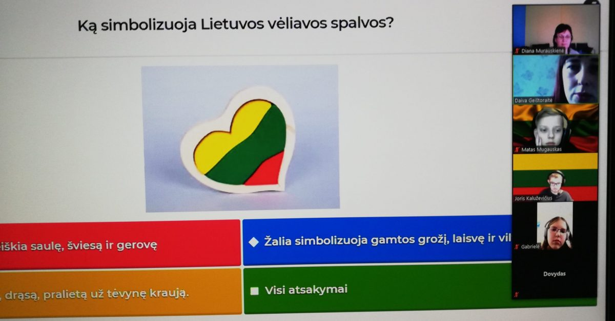 """Istorijos pamokų savaitė """"Kelias vardu Lietuva"""", skirta Lietuvos Nepriklausomybės dienai paminėti"""