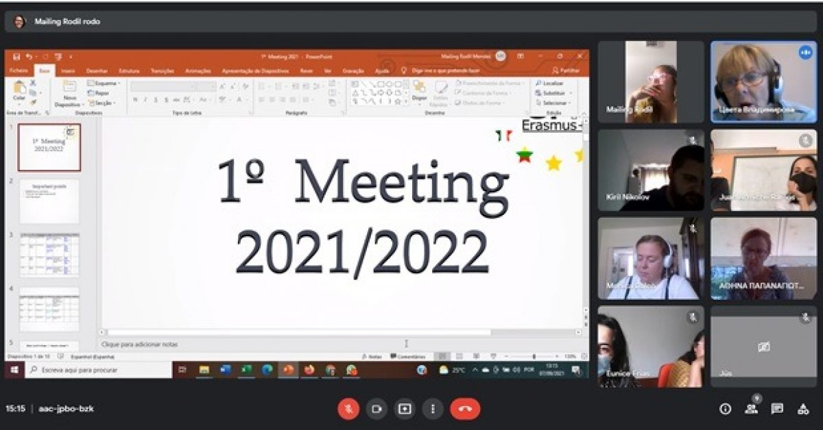 Erasmus+ CIT virtualus susitikimas