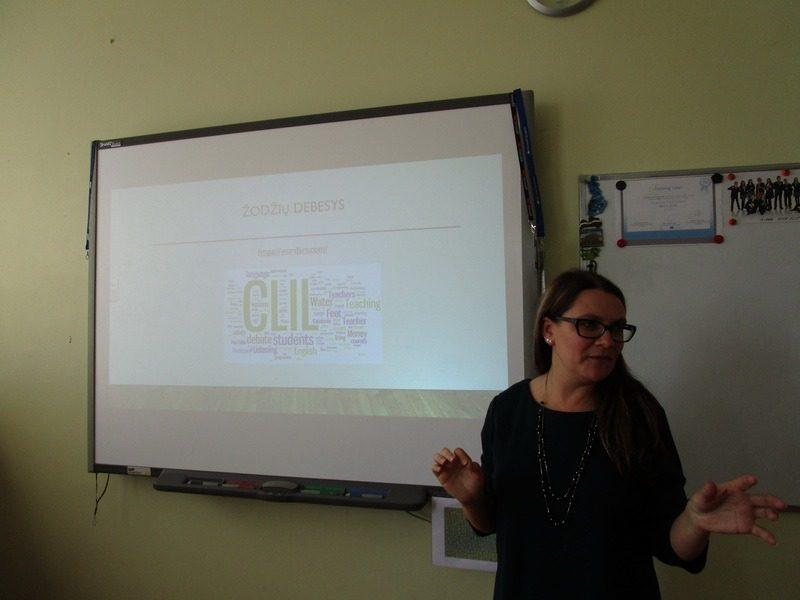 """Seminaras """"Interaktyvios mokymo(si) priemonės kalbos ir dalyko integracijai (CLIL)"""""""
