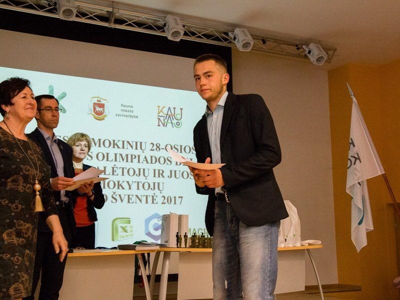 Informatikos olimpiados ir konkursų nugalėtojų apdovanojimo šventė 2017