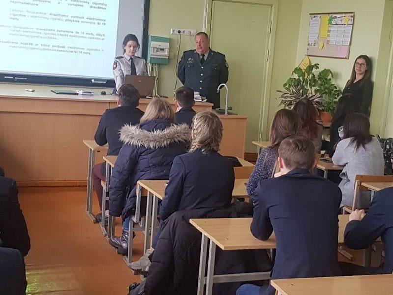 Prevencinė priemonė Kauno Veršvų gimnazijoje