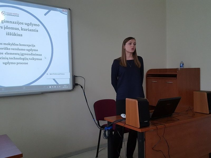 Kauno miesto ugdymo įstaigų konferencija