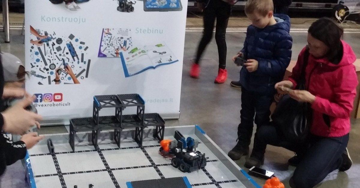 "Technologijų šventė ""Robotiada 2017"" Vilniuje"