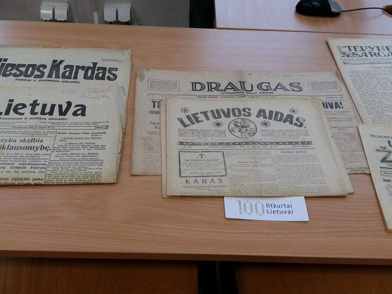 Lietuvos valstybės atkūrimo šimtmetis