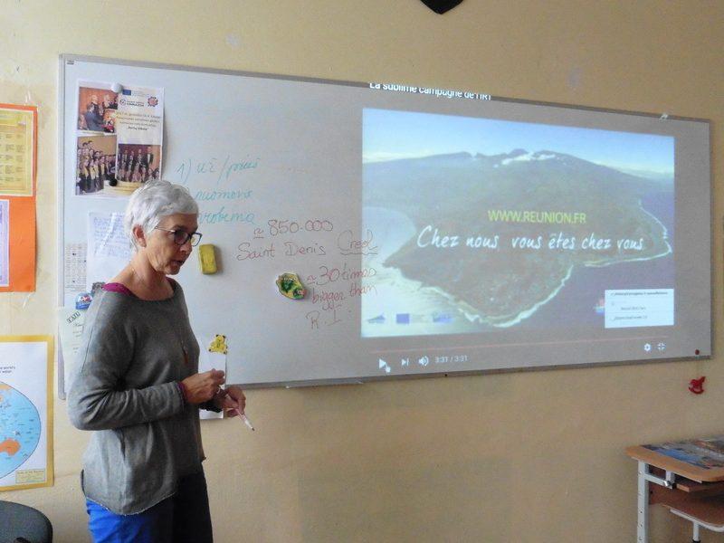 Dalinamės savo patirtimi su mokytojais iš užsienio