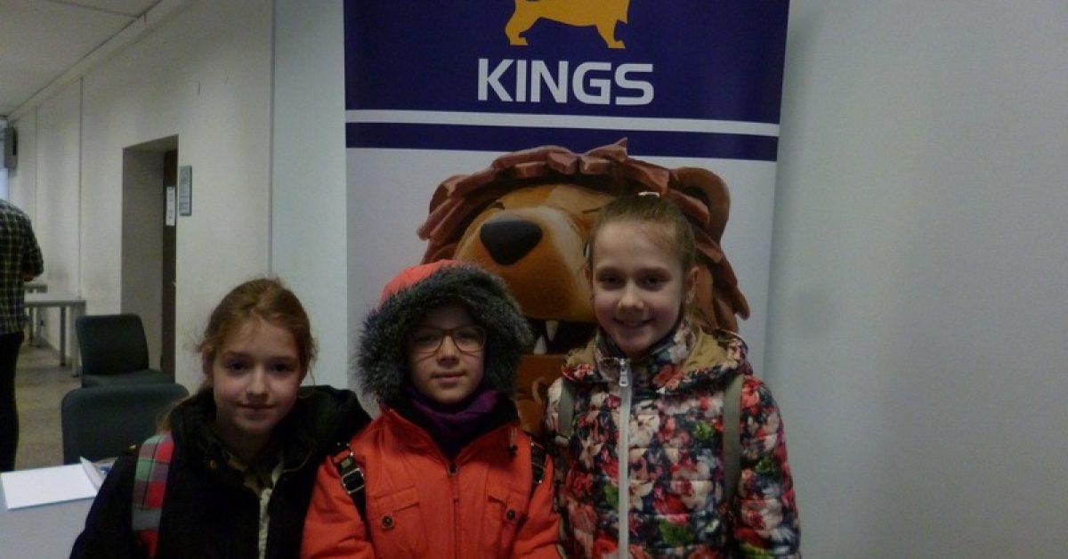 Dalyvaujame KINGS anglų kalbos olimpiadoje