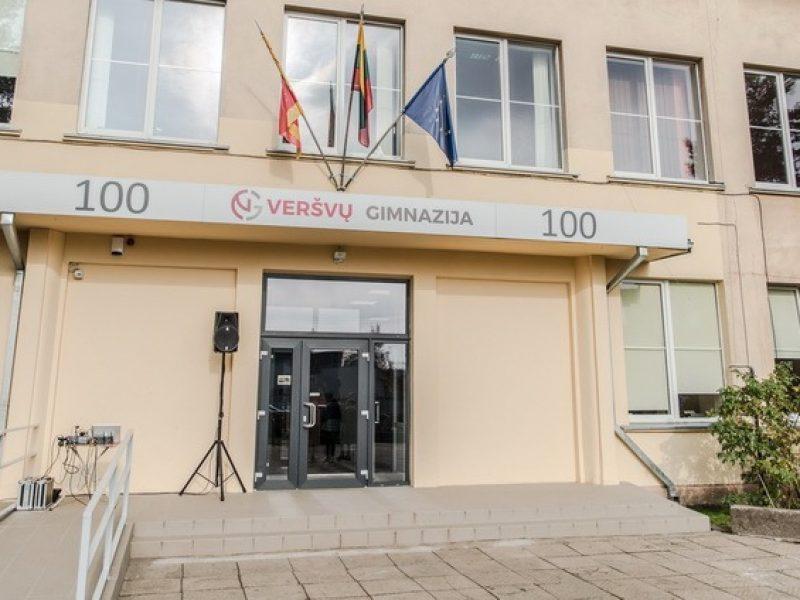 Kauno Veršvų gimnazijos šimtmečio akimirkos