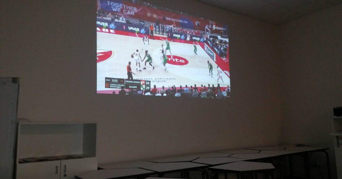Krepšinio rungtynių transliacija