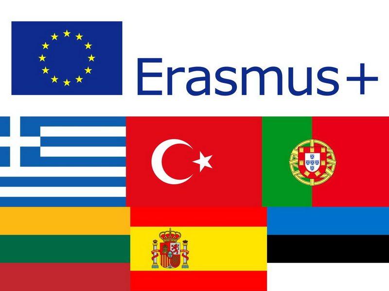 """Erasmus + KA2 tarptautinis tarpmokyklinių starteginių partnerysčių projektas """"Art, Technology & Sport keep me bound to my School"""" 2016–2018"""