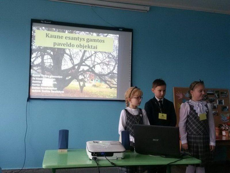"""Kauno miesto mokinių tiriamųjų darbų konferencija ,,Pamilti gamtą per jos pažinimą"""""""
